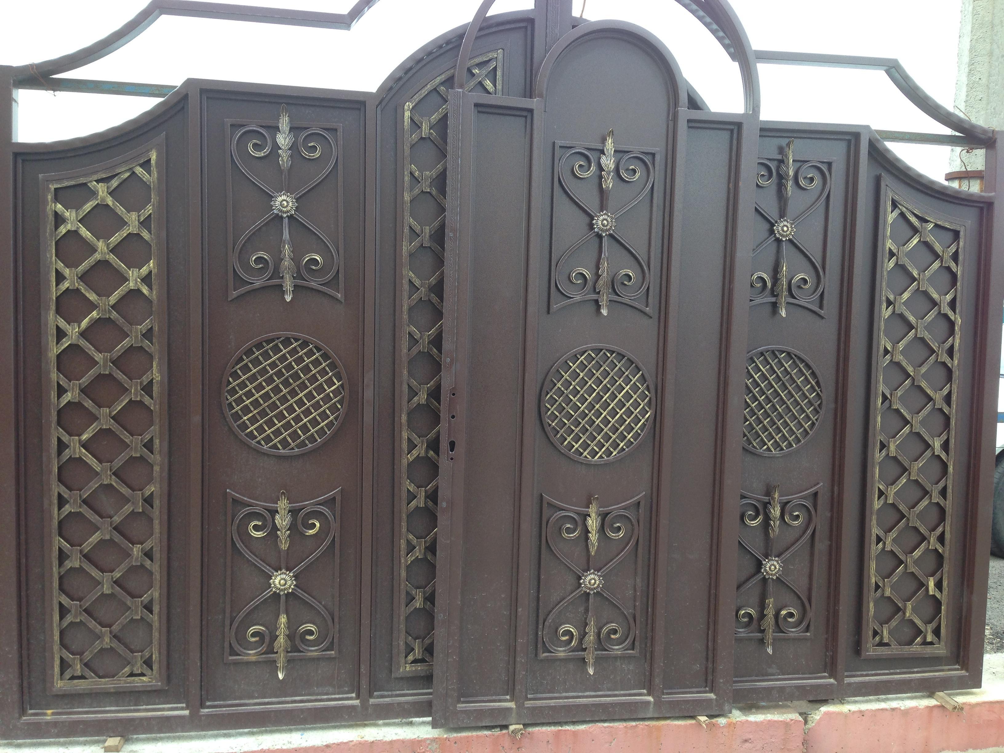 Кованые ворота в Москве